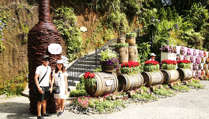 Vườn Hoa Tình Yêu Bà Nà Hills