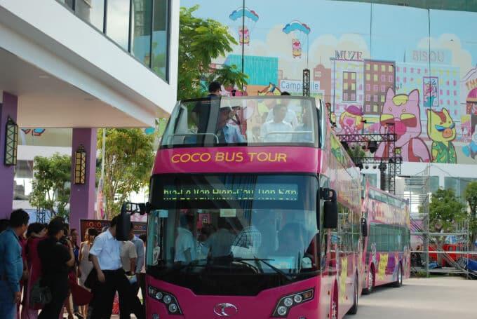 Vé Xe Bus 2 Tầng Coco Bus Đà Nẵng