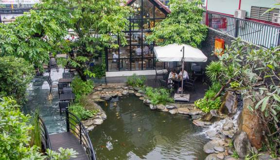 Quán cafe vườn Đà Nẵng